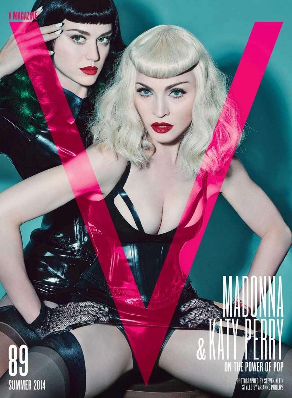 Katy Perry and Madonna on the summer 2014