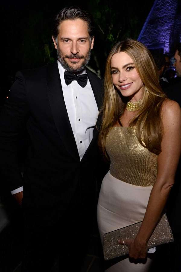 Joe Manganiello and Sofia Vergara attend the Bloomberg
