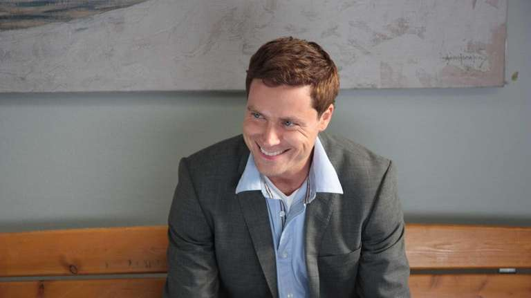 Greg Poehler as Bruce Evans in the comedy