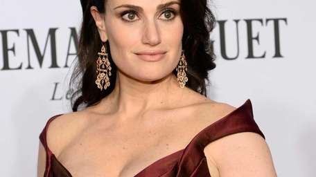 Idina Menzel attends the 68th Tony Awards at
