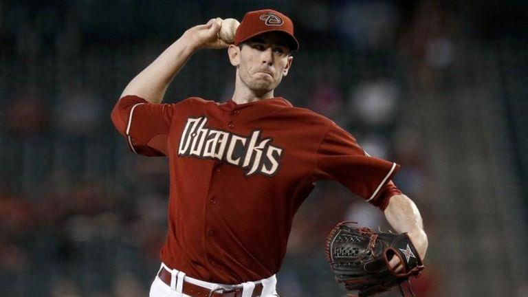 Arizona Diamondbacks' Brandon McCarthy throws a pitch to
