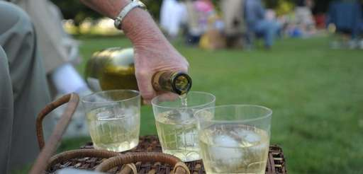 These sparkling wines are perfect for picnics.