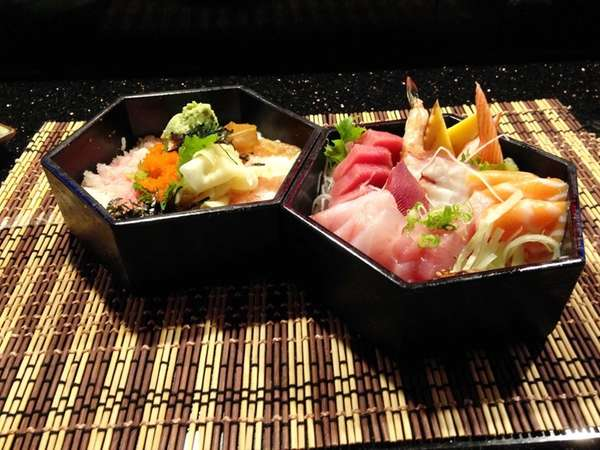 The chirashi at Kiss'o in New Hyde Park