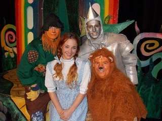 """The Wizard of Oz"" will be presented at"