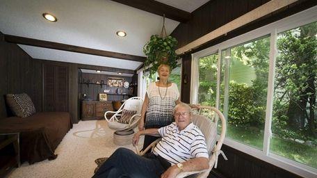 West Hempstead residents Rita and Maurice Katz in
