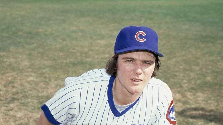 Tom Veryzer of the Chicago Cubs is shown