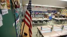 This is a first grade classroom at the