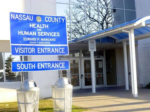 The Nassau County Department of Health is shown