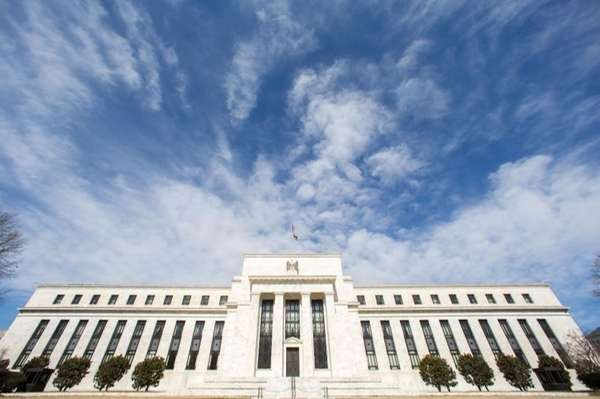 The Federal Reserve headquarters building in Washington on