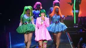 "Katy Perry performs during ""The Prismatic World Tour"""