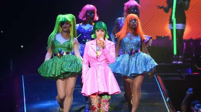 Katy Perry performs during
