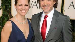 Actor Robert Downey Jr. and producer Susan Downey