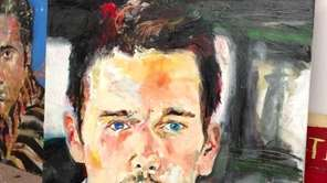 A portrait of actor Ethan Hawke by William
