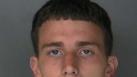 Jason Quick, 24, of Manorville, was arrested and