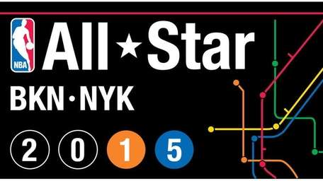 The logo for the 2015 NBA All-Star Game