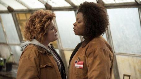 Two fine actresses eye to eye: Vee --