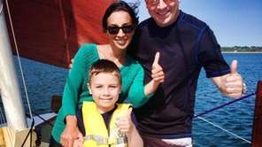 Kids can learn how to sail in Montauk