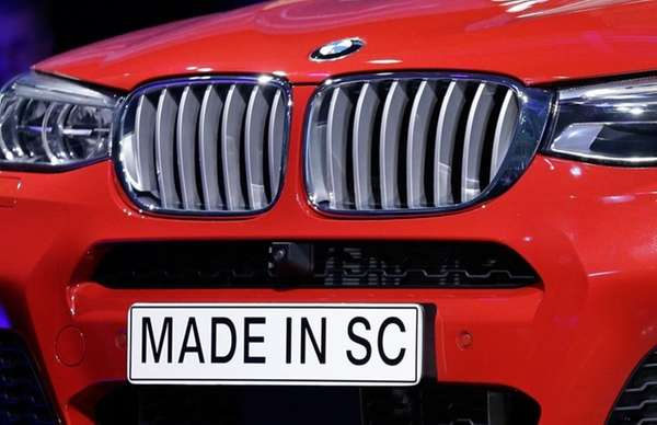 A 'Made In SC' plate is shown on