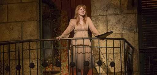"Jessica Chastain in a scene from ""Romeo and"