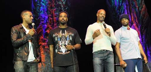 The Wayans Brothers, from left, Marlon Wayans, Shawn