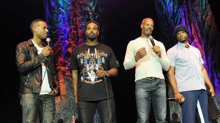 wayans brothers unite for first time onstage as stand ups newsday