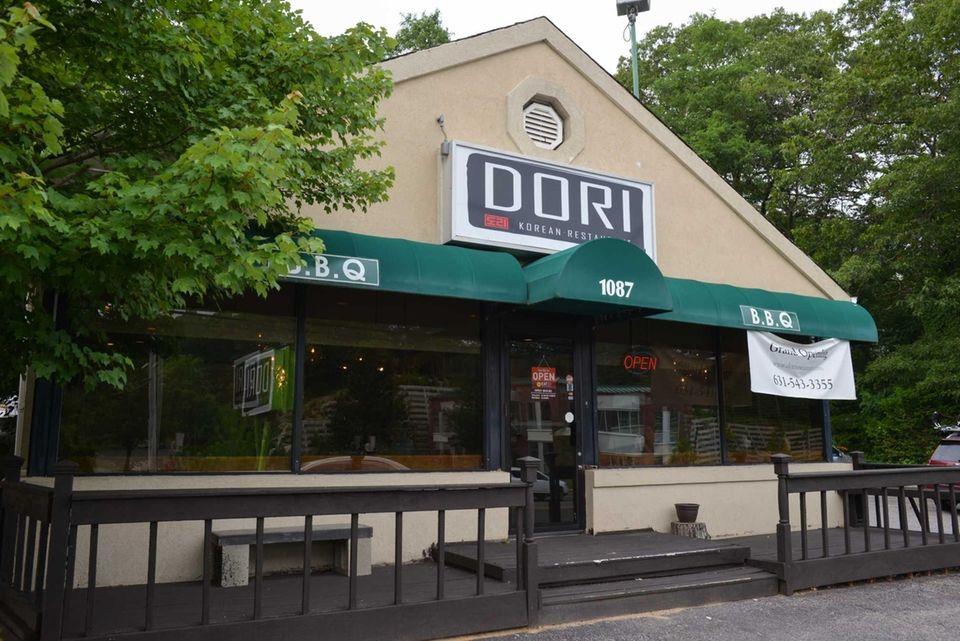 Dori is a Korean restaurant in Commack, July