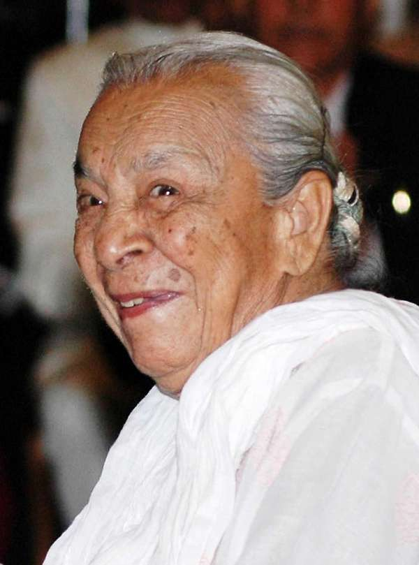 Actress and dancer Zohra Sehgal, who charmed viewers