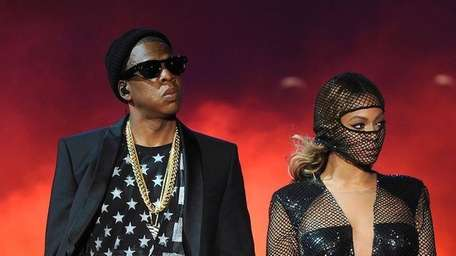 Jay Z and Beyonce perform at MetLife Stadium