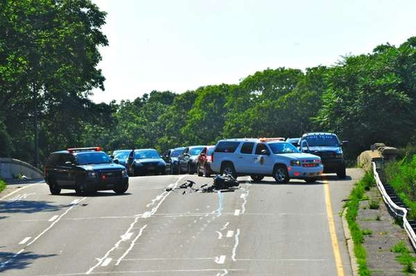 A fatal accident involving a motorcycle shut down