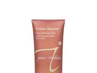 Jane Iredale's Golden Shimmer is a rare find,