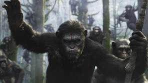 """Dawn of the Planet of the Apes"" topped"