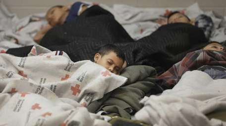 Children who have crossed into the United States