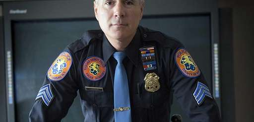 Nassau County Sgt. Rich LeBrun wears a new