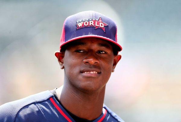 Yankees prospect Luis Severino of the World Team