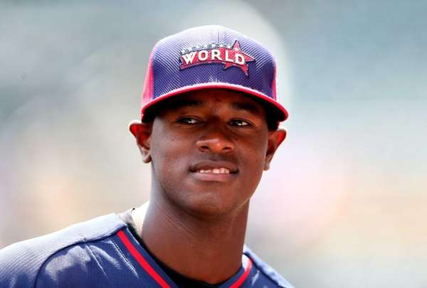 Yankees prospect Luis Severino of the World Team
