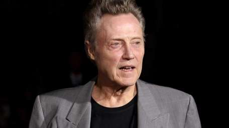 Actor Christopher Walken at the premiere of