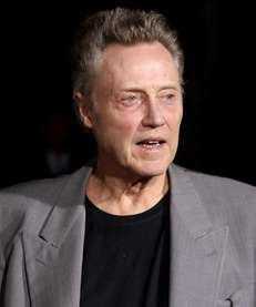 "Actor Christopher Walken at the premiere of ""Seven"