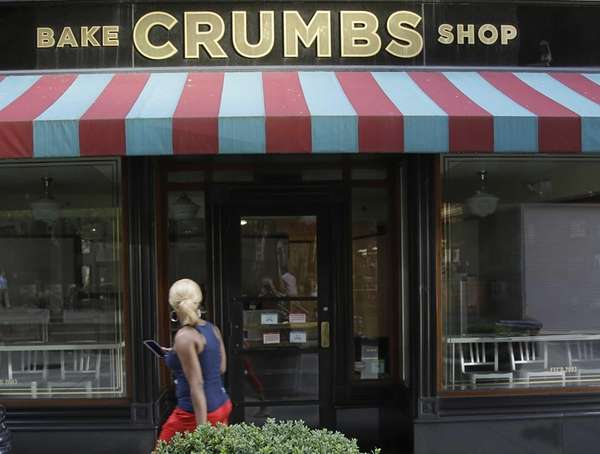 A Crumbs Bake Shop sits empty on July