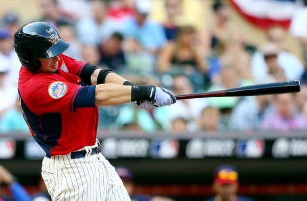 Kevin Plawecki of the U.S. Team bats against