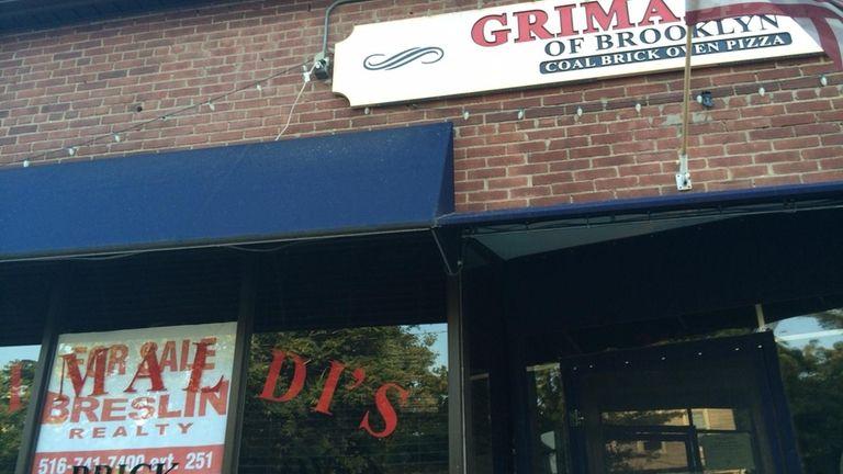 Grimaldi's in Sea Cliff has closed, July 2014.