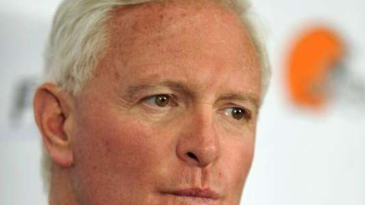 Cleveland Browns owner Jimmy Haslam addressed media during