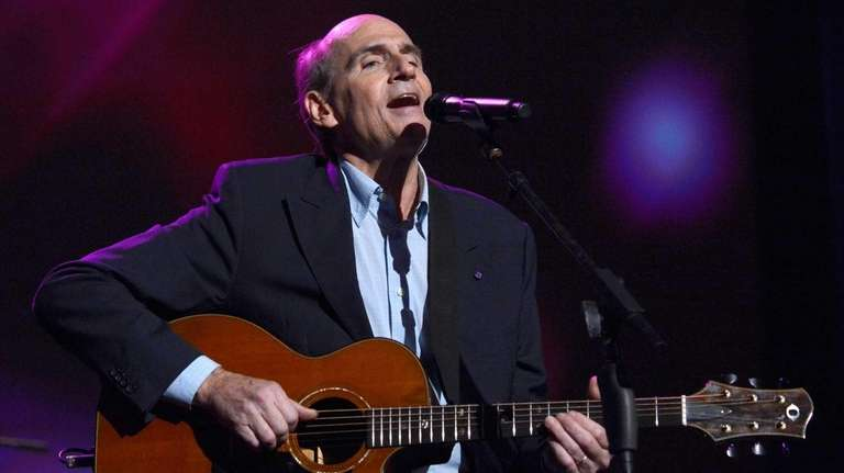 James Taylor performs at the MusiCares Person Of