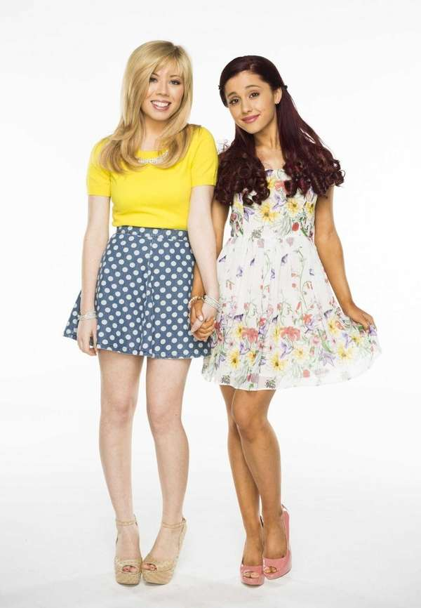 Nickelodeon?s Jennette McCurdy and Ariana Grande star in