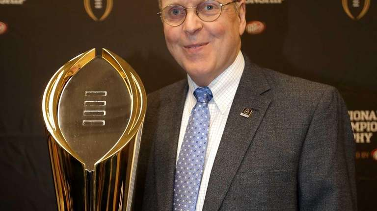 College Football Playoff Executive Director Bill Hancock poses