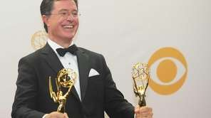 TV personality Stephen Colbert at the 65th Annual