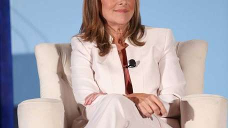 Meredith Vieira speaks during a