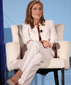 "Meredith Vieira speaks during a ""The Meredith Vieira"