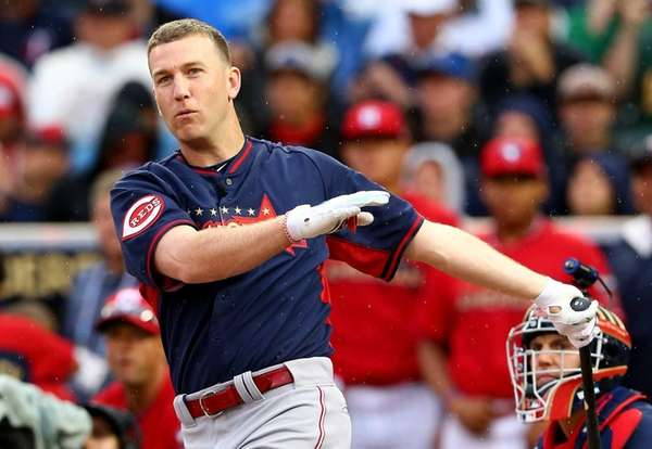 National League All-Star Todd Frazier of the Cincinnati
