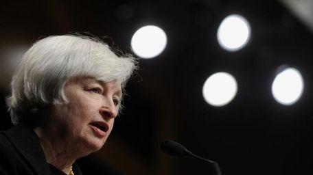 Federal Reserve chairwoman Janet Yellen speaks on July