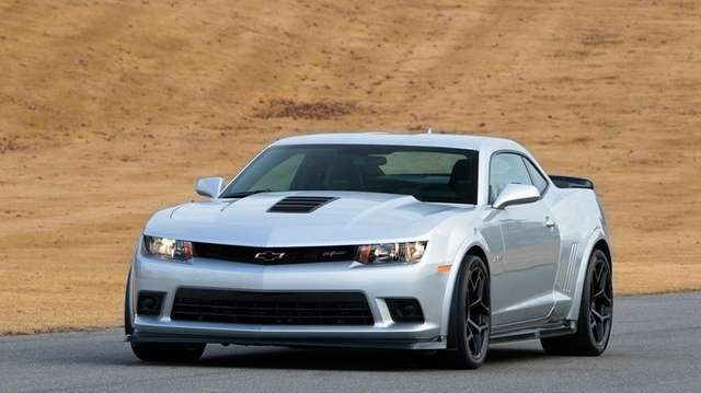 The 2015 Chevrolet Camaro.